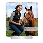 Katherine Pal 15 Shower Curtain