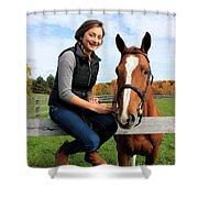 Katherine Pal 16 Shower Curtain
