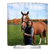 Katherine Pal 18 Shower Curtain