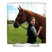 Katherine Pal 20 Shower Curtain