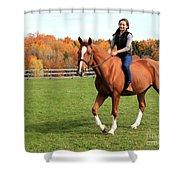 Katherine Pal 21 Shower Curtain