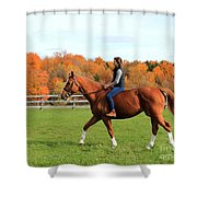 Katherine Pal 26 Shower Curtain