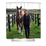 Katherine Pal 9 Shower Curtain