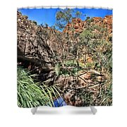 Kathleen Springs V3 Shower Curtain
