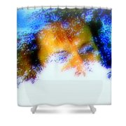A Face To Call Home Shower Curtain
