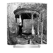 Kathy In Gazebo 1979 Shower Curtain