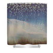 Kathy's Mountains Shower Curtain