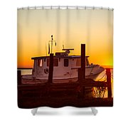 Katlyn At Sunrise Shower Curtain