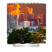 Katrina Storm Hits Cincinnati Shower Curtain
