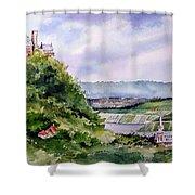 Katz Castle Shower Curtain