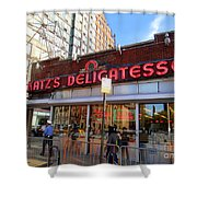 Katz's Delicatessan Shower Curtain