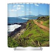 Kauai Coast Shower Curtain