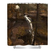 Kauterskill Falls Shower Curtain