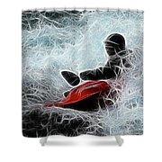 Kayaker 2 Shower Curtain
