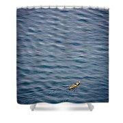 Kayaking Alone Shower Curtain