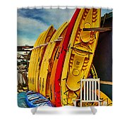 Kayaks For Rent Shower Curtain