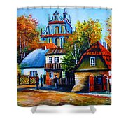 Kazimierz Dolny In Fall Shower Curtain