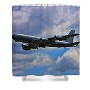 Kc-135 Stratotanker Shower Curtain