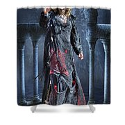 Kc Zombie Walk For Hunger Shower Curtain