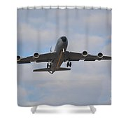 Kc135 Airforce Aircraft  Picture A Shower Curtain