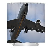 Kc135 Military Aircraft  Picture C Shower Curtain