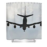 Kc135 Military Aircraft  Picture E Shower Curtain