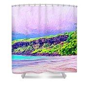 Kealakekua Morning Shower Curtain