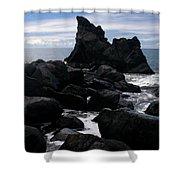Keanae Peninsula Maui Hawaii Shower Curtain