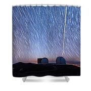 Keck Laser Piercing The Heavens 1 Shower Curtain