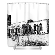 Kedington Church Shower Curtain
