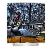 Keep Fire In Your Life No 12 Shower Curtain