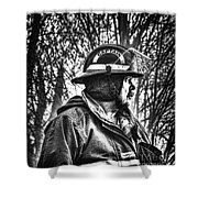 Keep Fire In Your Life No 3 Shower Curtain