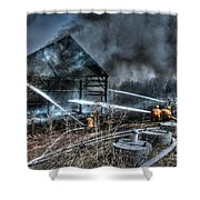 Keep Fire In Your Life No 9 Shower Curtain