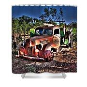 Keep On Truckin Shower Curtain