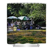 Keep Park Clean Shower Curtain