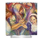 Keep Your Eyes On The Prize United Shower Curtain