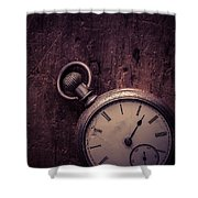 Keeping Time Shower Curtain