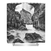 Kehole Arch Shower Curtain by Darren  White