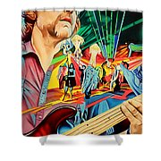 Keith Moseley At Horning's Hideout Shower Curtain