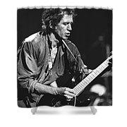 Keith Richards Shower Curtain