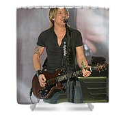 Musician Keith Urban Shower Curtain