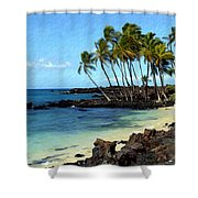 Kekaha Kai II Shower Curtain