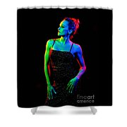 Kellierainbow-11 Shower Curtain
