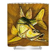 Kelly B's Snook Shower Curtain