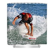 Kelly Slater World Surfing Champion Copy Shower Curtain