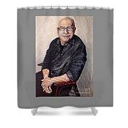 Ken Bruce Shower Curtain
