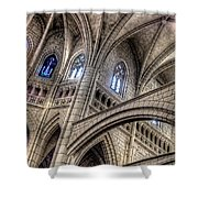 Ken Follets Cathedral No2 Shower Curtain