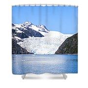 Aialik Glacier Shower Curtain