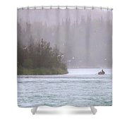 Kenai Shower Curtain by Ron Day