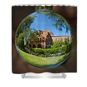 Kendal Hall Chico State University Shower Curtain